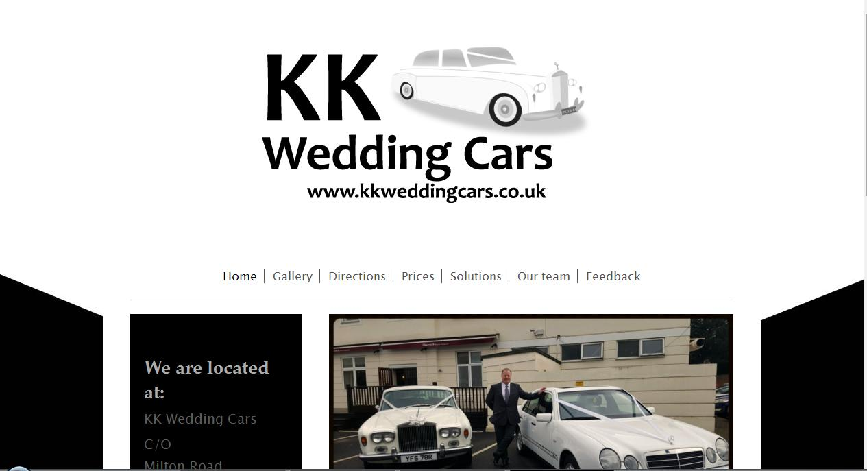 Clikc here to visit KK Wedding Cars